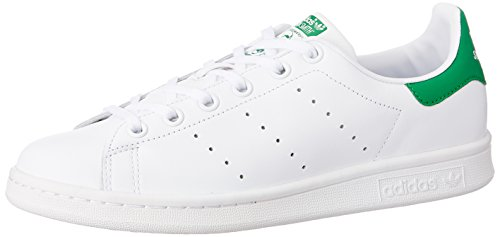 Adidas Stan Smith, Unisex-Kinder Sneakers, Weiß (Ftwr White/Ftwr White/Green), M20605, 38 2/3 EU
