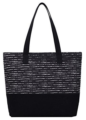 DCCN Canvas Shopper Bag Damen Canvas Handtaschen Tote Bag