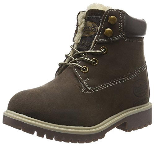 Dockers by Gerli Unisex-Kinder 35FN799-400320 Combat Boots, Braun (Cafe 320), 30 EU