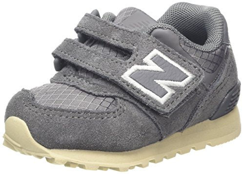 New Balance Unisex-Kinder Sneaker, Grau (Grey), 37 EU (4 UK)