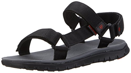 Northland Herren Bergon MS Sandals Sport-& Outdoor, Schwarz (Black), 43 EU