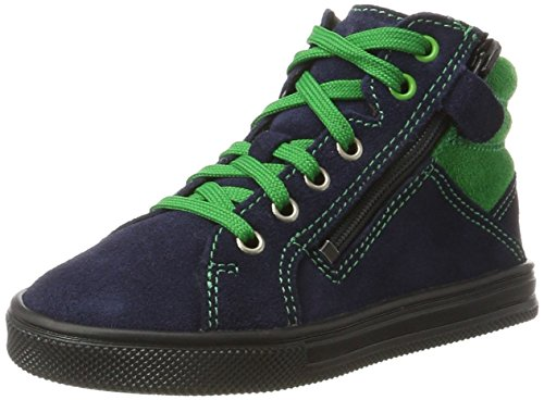 Richter Kinderschuhe Jungen Ola Derbys, Blau (Atlantic/Grass), 30 EU