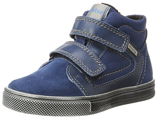 Richter Kinderschuhe Jungen Ola Derbys, Blau (Ink/Pacific/Almond), 29 EU
