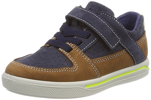 Ricosta Jungen Ted Sneaker, Blau (Nautic/Curry), 28 EU