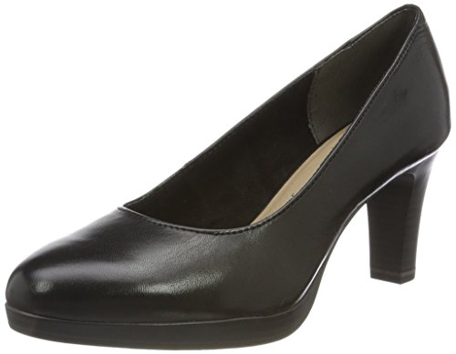 Tamaris Damen 22410 Pumps, Schwarz, 37 EU