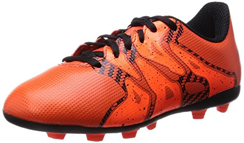adidas Performance X15.4 FxG, Jungen Fußballschuhe, Rot (Bold Orange/Ftwr White/Solar Orange), 33 EU (1 Kinder UK)