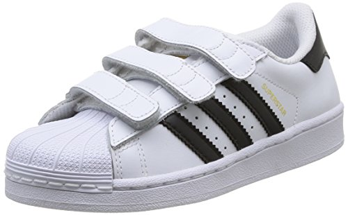 adidas Superstar Foundation Unisex-Kinder Sneakers, Weiß (Foundatio Ftwwht/CBL), EU 35