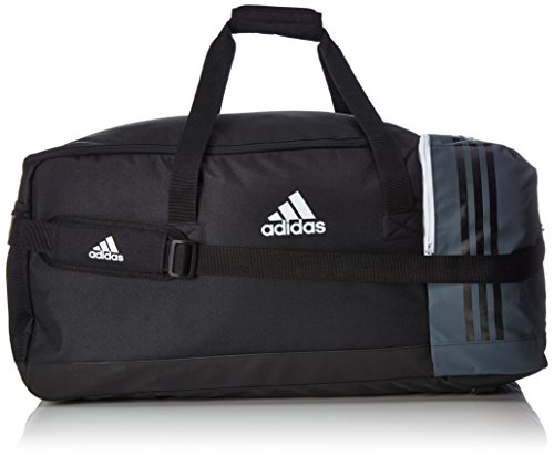 adidas Tiro Team B46 Sporttasche, Black/Dark Grey/White, L
