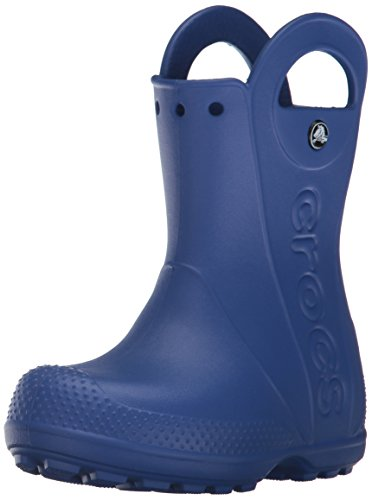 crocs Handle It Rain Boot, Unisex - Kinder Gummistiefel, Blau (Cerulean Blue), 23-24 EU