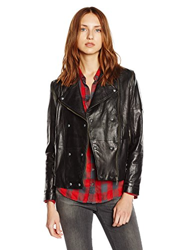 BOSS Orange Damen Lederjacke Jamiero