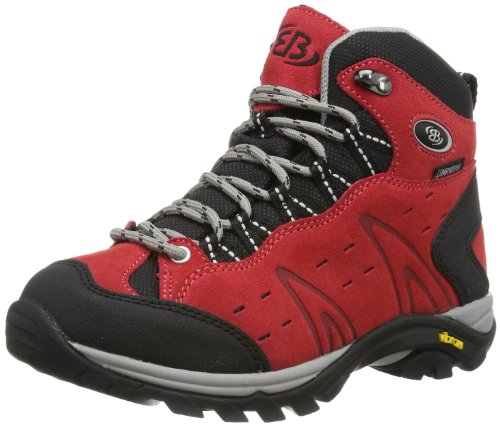 Bruetting MOUNT BONA HIGH, Damen Trekking- & Wanderstiefel, Rot (ROT), 39 EU (6 Damen UK)