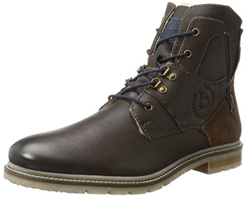 Bugatti Herren 321335501269 Klassische Stiefel, Braun (Dark Brown/Dark Brown), 40 EU