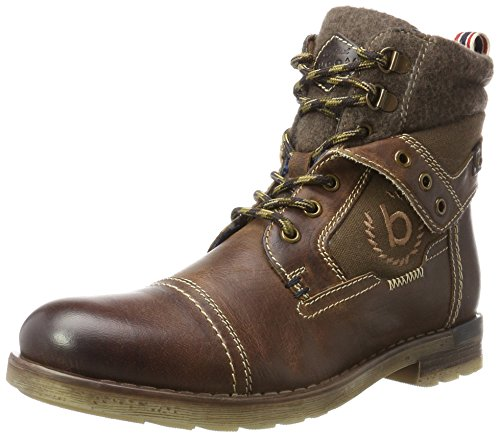 Bugatti Herren 321336303260 Klassische Stiefel, Braun (Dark Brown/Dark Brown), 45 EU