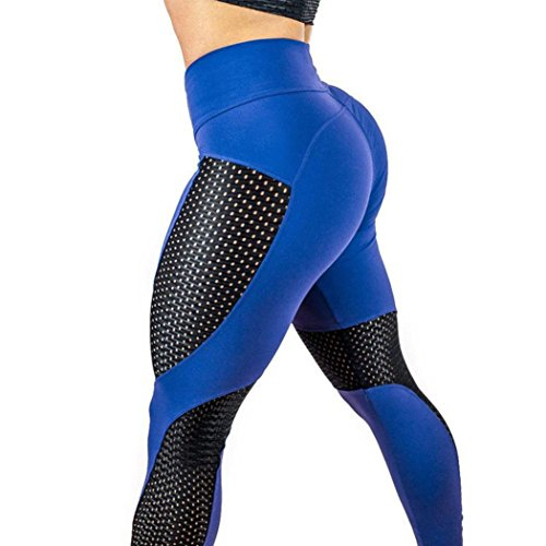 Damen Yoga Hose,Sonnena Frauen Fashion Workout Leggings Fitness Sport Fitness-Studio Running Yoga Athletic Pants Mit Polyester/Solide/Skinny/WAnkle-Länge/hohe Taille/Knöchel-Länge/Weiß/Casual Style