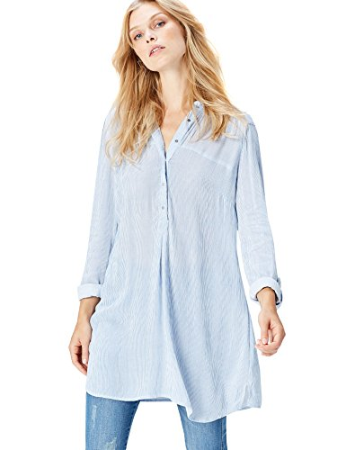 FIND Damen Bluse Soft Stripes