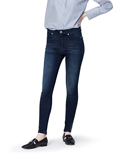 FIND Damen High Waist Skinny-Jeans
