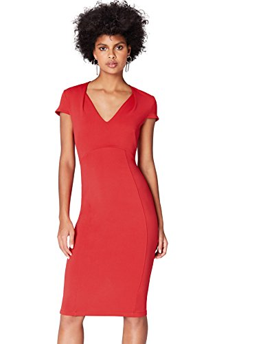 FIND Damen Kleid Structured Bodycon