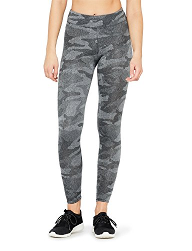 FIND Damen Tights mit Camouflage-Muster