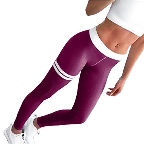 Hosen Damen Sunday Sportbekleidung Skinny Frauen Patchwork Yoga Leggings Fitness Gym Kleidung