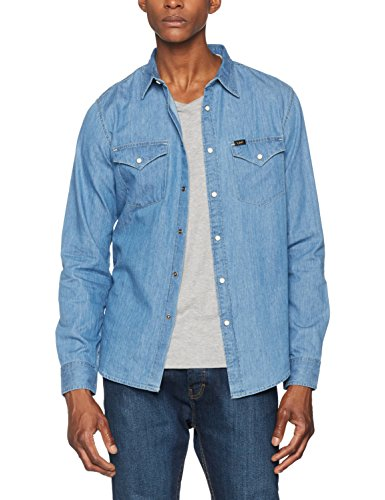 Lee Herren Freizeit Hemd Lee Western Shirt