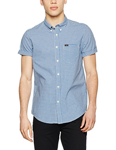 Lee Herren Freizeithemd Button Down SS