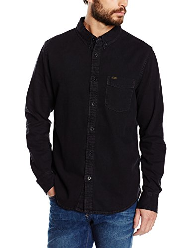 Lee Herren Regular Fit Freizeit Hemd Button Down