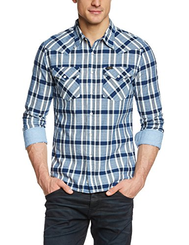 Lee Herren Slim Fit Freizeithemd WESTERN SHIRT