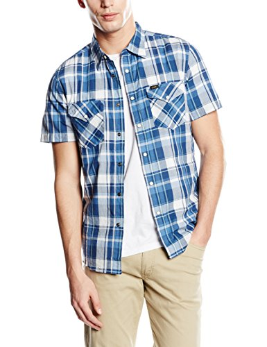 Lee Herren, Slim Fit, Freizeithemd, Western Shirt SS
