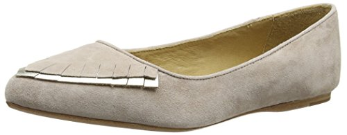 Liebeskind Berlin LS0089 Goat Suede/Metallic Leather, Damen Geschlossene Ballerinas, Pink (Light Powder), 40 EU