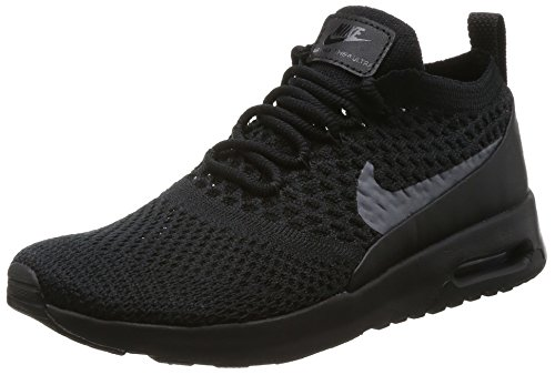Nike Damen Air Max Thea Ultra Flyknit Sneaker, Schwarz (Black/Dark Grey), 39 EU
