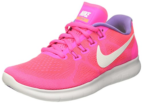 Nike Damen Free Run 2017 Laufschuhe, Pink (Racer Pink/Off White/Pink Blast/Brt Mango/Purple Earth), 38.5 EU