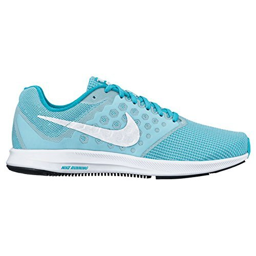 Nike New Women's Downshifter 7 Running Shoe Blue/Chlorine 10