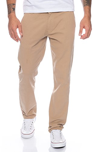 Rock Creek Herren Designer Chino Hose Regular Slim Chinohose W29-W40 RC-390