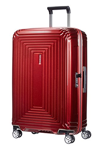 Samsonite Neopulse Spinner, M (69cm-74L), METALLIC RED