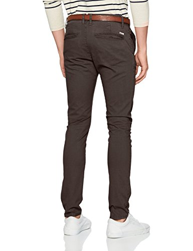 TOM TAILOR Denim Herren Hose Skinny Chino Solid with Belt