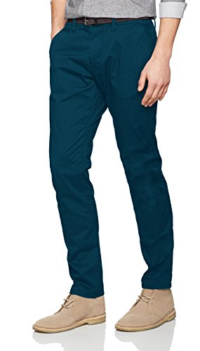 TOM TAILOR Herren Hose Travis Casual Chino W/Belt