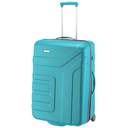 "Travelite Valise trolley ""Vector"" avec 2 roues turquoise Koffer, 73 cm, 110 liters, Türkis (Turquoise)"
