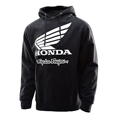 Troy Lee Designs Hoody Honda Wing Schwarz