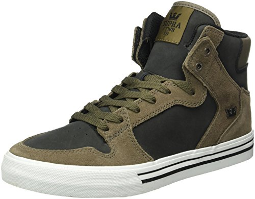 Supra Herren Vaider High-Top, Braun (Morel/Black-White 099), 44 EU