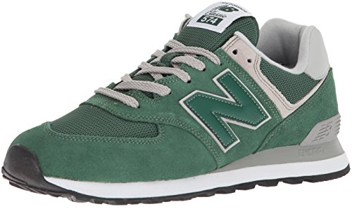 New Balance Herren Ml574E Sneaker, Grün (Forest Green/ML574EGR), 43 EU