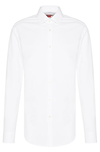 HUGO BOSS Business-Hemd | C-Jenno ( Slim Fit ) weiß/white (43 | XL)