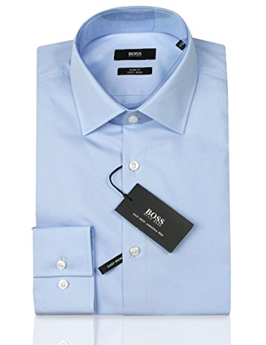 HUGO BOSS Business-Hemd | Jenno ( Slim Fit ) hellblau / blue