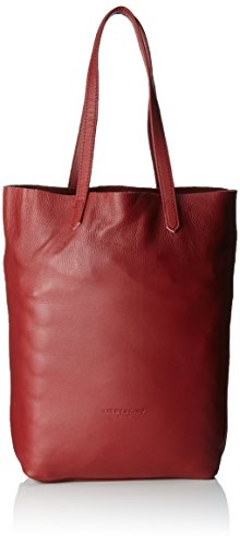 Liebeskind Berlin Damen Viki7 Vintag Tote, Rot (Phonebox Red), 12x38x36 cm
