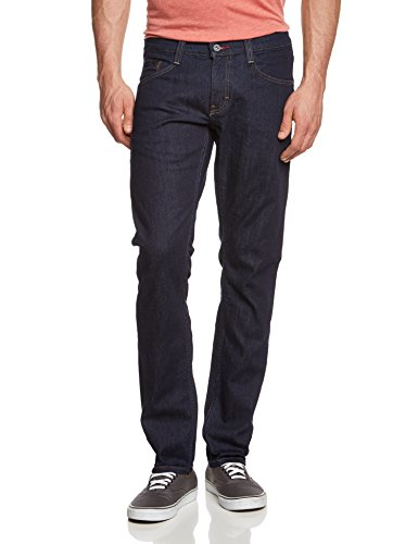 MUSTANG Herren Tapered Jeans Oregon, Gr. W32/L32, Blau (rinse washed 590)
