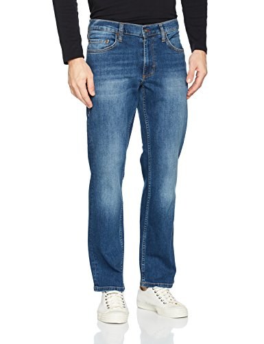 Mustang Herren 1005448-Big Sur, Blau (Medium Bleach 5000-312), W40/L36