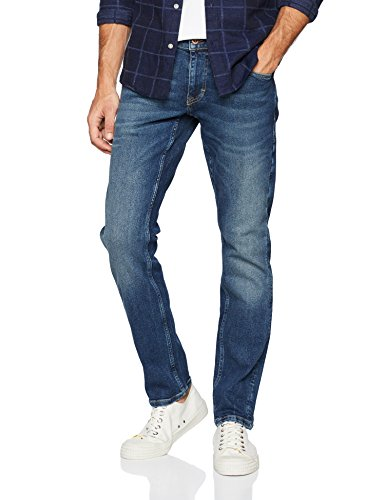 Mustang Herren Fit Jeans Oregon Tapered, Blau (Dark 883), W36/L32