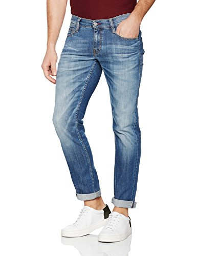 Mustang Herren Fit Jeans Oregon Tapered, Blau (Light Scratched Used 583), Gr. 34/30