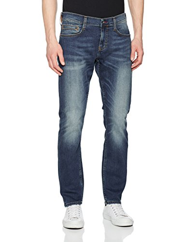 Mustang Herren Fit Jeans Oregon Tapered, Blau (Stone 068), W31/L32