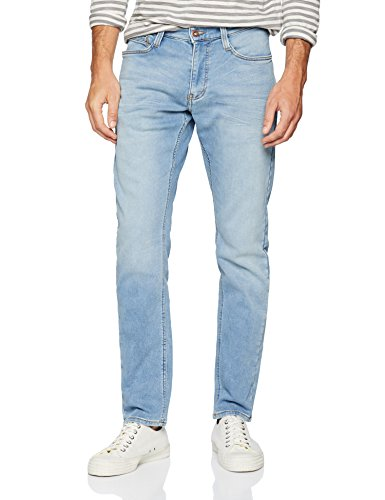 Mustang Herren Fit Jeans Oregon Tapered K, Blau (Medium Bleach 313), W33/L34