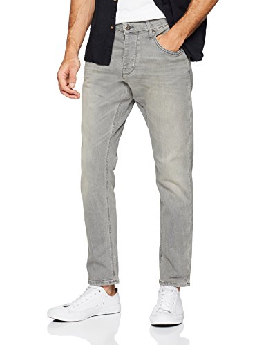 Mustang Herren Fit Jeans Tapered, Grau (Medium Bleach 4500-313), W31/L30